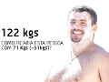 Fabiano ANTES (122 Kg) E DEPOIS (71 Kg)