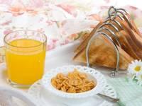 Não tome o pequeno almoço à pressa!