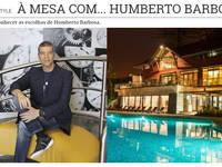 À mesa com Humberto Barbosa