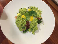 Salada de espargos