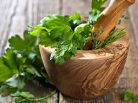 Ervas para temperar saladas