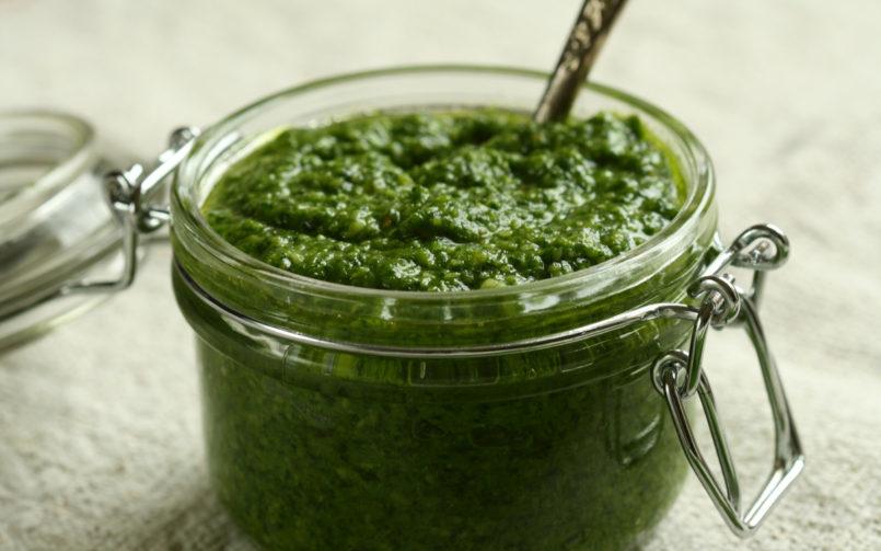 Learn how to make Pesto Sauce!