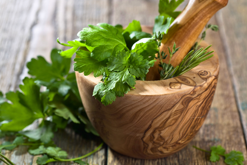 Herbs for salad dressing