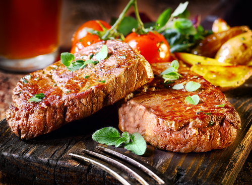 Don't burn your steak!
